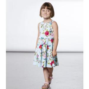 Deux par Deux (デューパーデュー)Printed Floral Flared Neoprene Dress 20%Off sugardays