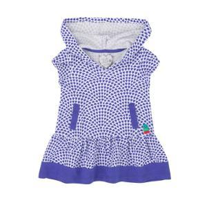 Deux par Deux (デューパーデュー)BlueLagoon(mini)hooded dress sugardays