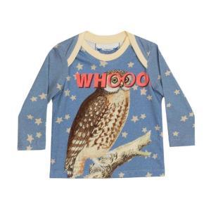 Little Wings(リトルウィングス)Whooo ロングスリーブTee 20%Off|sugardays