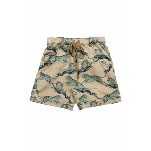 Paper Wings(ペーパーウィングス)Walk Shorts-Lions and Tigers 30%Off|sugardays