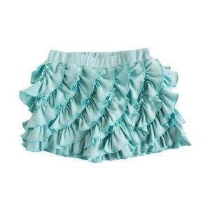 LemonLovesLime (レモンラブズライム)Ruffle Skorts/Turquoise(20% Off)|sugardays