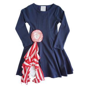 LemonLovesLime(レモンラブズライム)peppermint swirl dress/sky captain(30%Off)|sugardays
