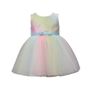 BonnieJean(ボニージーン)Metallic Ombre Dress (size12m〜24m) sugardays