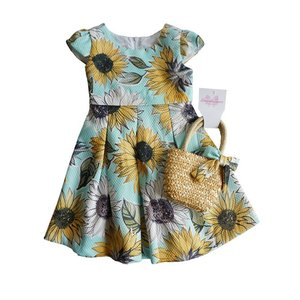 BonnieJean(ボニージーン)Pique Dress with Bag(size4〜6x) 10%Off sugardays