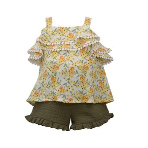 BonnieJean(ボニージーン)Crinkle short set (size2T〜4T) 10%Off|sugardays