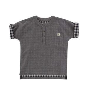 Turtledove London【タートルダヴロンドン】Reversible check/chambray shirt|sugardays