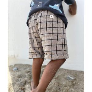 Turtledove London【タートルダヴロンドン】Grid shorts|sugardays