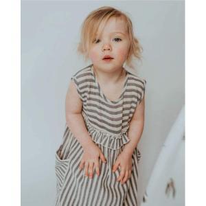 Turtledove London【タートルダヴロンドン】Reversible dress Drinkle stripe|sugardays