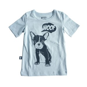 Hebe【ヘベ】Top light blue with dog 20%Off|sugardays