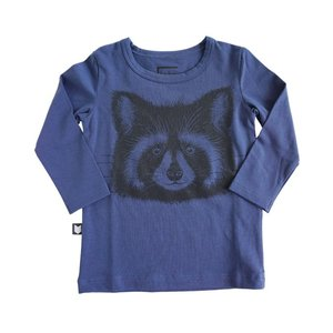Hebe【ヘベ】Top blue with racoon 20%Off|sugardays