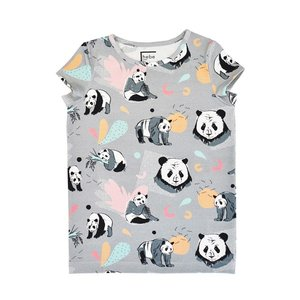 Hebe【ヘベ】Top with pandas 30%Off|sugardays