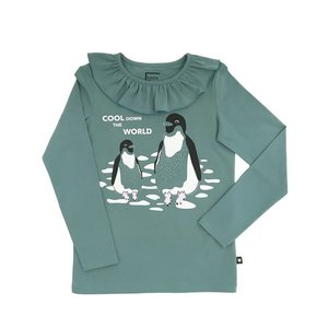Hebe【ヘベ】Green top with Penguins 20%Off|sugardays