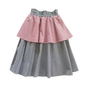 Hebe【ヘベ】Skirt with striped ruffle 20%Off|sugardays