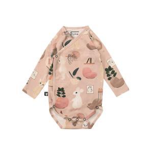 Hebe【ヘベ】Pink Sweet home print L/Sボディスーツ|sugardays