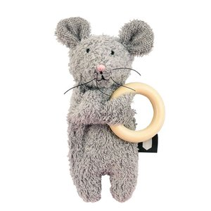 Hebe【ヘベ】Mousy wooden teether(歯固め) sugardays