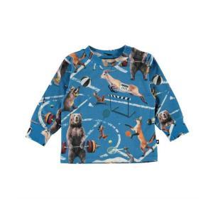 Molo(モロ) Eloy Athletic Animals ロングスリーブTee(~size92)|sugardays
