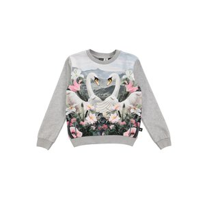 Molo(モロ)Magine Swans  L/S Tee(size92〜size152)40%Off|sugardays