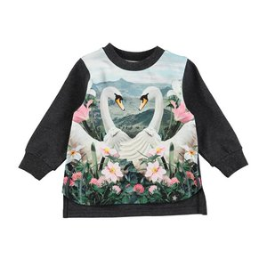 Molo(モロ)Elvira Swans L/S Tee(Babysize 92まで)20%Off|sugardays