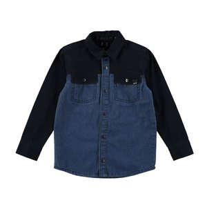 Molo(モロ)Rufus Mix indigo シャツ(size92/98〜size146/152) 20%Off|sugardays