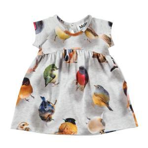 Molo(モロ)Cille Bouncing Birds ワンピース(Babysize 92まで)20%Off|sugardays
