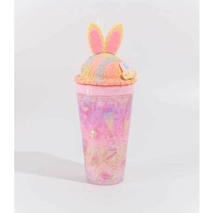 Bewaltz(ビワルツ)Sweets Rainbow Bunny Tumbler/pink|sugardays