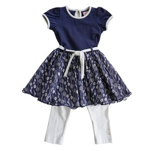 Lofff(ロフ)Flower Dress Dark Blue 20%Off|sugardays