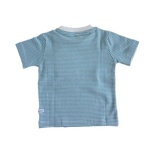 Rugged Butts【ラゲッドバッツ】PeacockBlue Striped pocket Tee 20%Off sugardays 02