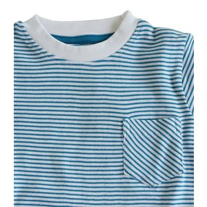 Rugged Butts【ラゲッドバッツ】PeacockBlue Striped pocket Tee 20%Off sugardays 03