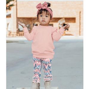 Ruffle Butts【ラッフルバッツ】Ballet pink スウェツトチュニック|sugardays
