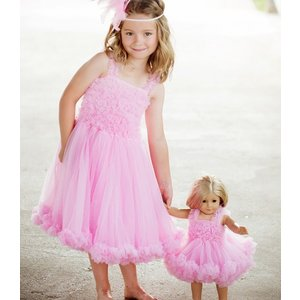 Ruffle Butts【ラッフルバッツ】Princess Petti Dress Pink|sugardays