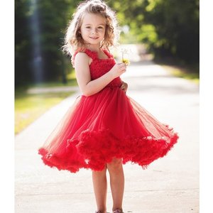 Ruffle Butts【ラッフルバッツ】Princess Petti Dress Red|sugardays