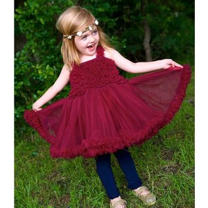 Ruffle Butts【ラッフルバッツ】Princess Petti Dress Mulberry|sugardays