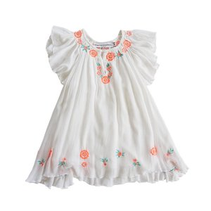 How To Kiss a Frog(ハウトゥーキス・・・)Forma Dress Whaite-Embroidery 30%Off sugardays