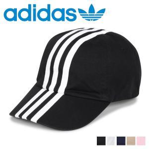 アディダス adidas キャップ 帽子 ベースボールキャップ メンズ レディース ADS CM 3ST CAP ブラック ホワイト ネイビー ベージュ ピンク 黒 白 187-711054 [11/5 新入荷]