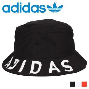 アディダス adidas ハット キャップ 帽子 バケットハット メンズ レディース ADS BRIM PRINT BUCKET HAT ブラック ホワイト オンレジ 黒 白 197-111706 [11/5 新入荷]