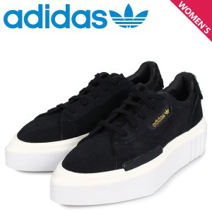 adidas Originals アディダス オリジナルス ハイパースリーク スニーカー レディース HYPERSLEEK W ブラック 黒 EE7037 11/15 新入荷|sugaronlineshop