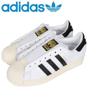 adidas Originals アディダス オリジナルス スーパースター レースレス スニーカー スリッポン メンズ レディース SUPERSTAR FV3017 [2/25 新入荷]|sugaronlineshop