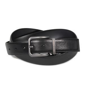 ARMANI EXCHANGE アルマーニエクスチェンジ ベルト レザーベルト メンズ 本革 ブラック 黒 951184-CC526|sugaronlineshop
