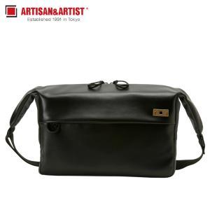 アルティザン&アーティスト ARTISAN&ARTIST ショルダーバッグ カメラバッグ バッグ メンズ BASALT SHOULDER BAG ブラック 黒 ACAM-BS0002 [予約商品 11/8頃入荷予定 新入荷]