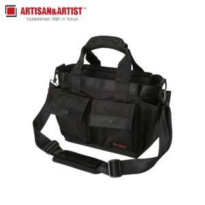 アルティザン&アーティスト ARTISAN&ARTIST ショルダーバッグ カメラバッグ バッグ メンズ 2WAY CAMERA BAG ブラック 黒 GDR-211N [予約商品 11/8頃入荷予定 新入荷]