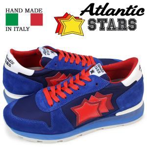 Atlantic STARS メンズ スニーカー アトランティックスターズ ブルー レッド シリウス SIRIUS MN 83B 靴|sugaronlineshop