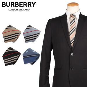 BURBERRY バーバリー ネクタイ メンズ TIE シルク 結婚式 1/17 新入荷|sugaronlineshop