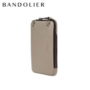 バンドリヤー BANDOLIER ポーチ スマホ 携帯 エキスパンデッド メンズ レディース レザー EXPANDED GREIGE POUCH ベージュ 21GRA 9/14 新入荷|sugaronlineshop