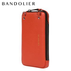 バンドリヤー BANDOLIER ポーチ スマホ 携帯 エキスパンデッド メンズ レディース レザー EXPANDED ORANGE POUCH 21GRA 9/7 新入荷|sugaronlineshop