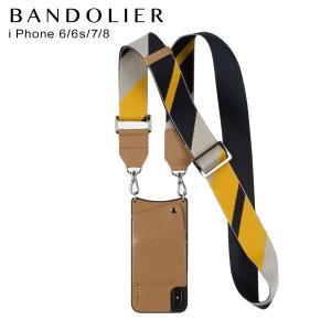 バンドリヤー BANDOLIER  iPhone 8 iPhone 7 6s ケース スマホ 携帯 アイフォン レディース  BELLA TAN NAVY キャメル 10bel 12/25 新入荷|sugaronlineshop