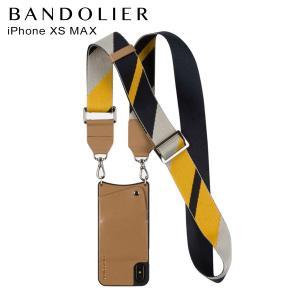 バンドリヤー BANDOLIER  iPhone XS MAX ケース スマホ 携帯 レディース  BELLA TAN NAVY キャメル 10bel 12/25 新入荷|sugaronlineshop