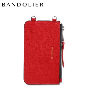 バンドリヤー BANDOLIER  ポーチ スマホ 携帯 レディース  CASEY RED POUCH レッド 20cas|sugaronlineshop