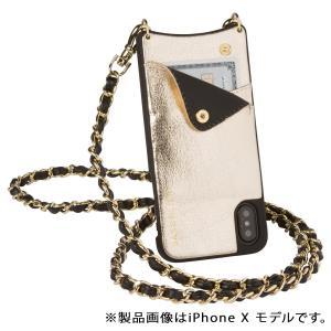バンドリヤー BANDOLIER iPhone8 iPhone7 7Plus 6s ケース スマホ アイフォン プラス LUCY METALLIC GOLD メンズ レディース ゴールド|sugaronlineshop