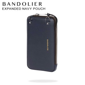 バンドリヤー BANDOLIER  ポーチ スマホ 携帯 レディース  EXPANDED NAVY POUCH ネイビー 21cas|sugaronlineshop