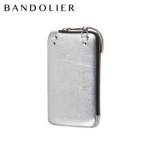 BANDOLIER バンドリヤー ポーチ ケース スマホ 携帯 エキスパンデッド メンズ レディース EXPANDED RICH SILVER POUCH シルバー 21GRA|sugaronlineshop